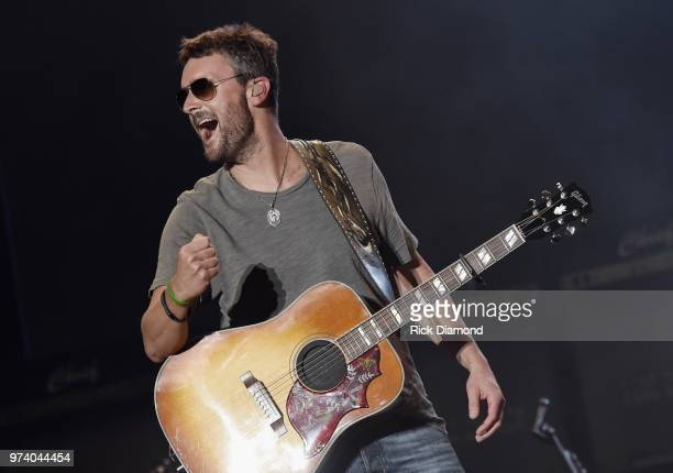 Eric Church performs during Pepsi's Rock The South Festival Day 2 in Heritage Park on June 2 2018 in Cullman Alabama