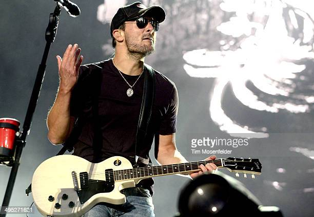 Eric Church performs during the Bottlerock Music Festival at the Napa Valley Expo on June 1 2014 in Napa California