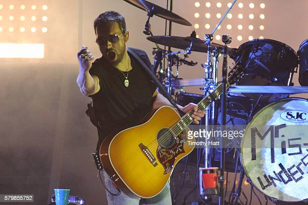 Eric Church performs on day 4 of Country Thunder Wisconsin on July 24 2016 in Twin Lakes Wisconsin