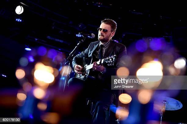 Eric Church performs onstage at the 64th Annual BMI Country Awards at BMI on November 1 2016 in Nashville Tennessee