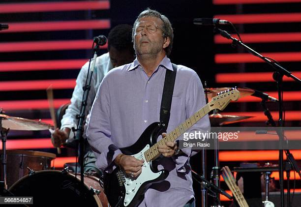 Eric Clapton And His Band In Concert At The Royal Albert Hall London Britain 16 May 2006 Eric Clapton