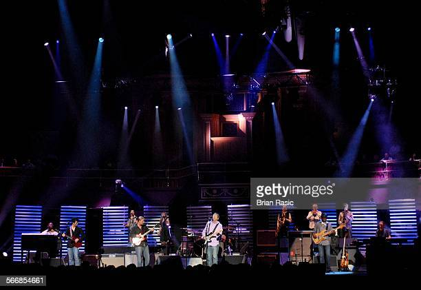 Eric Clapton And His Band In Concert At The Royal Albert Hall London Britain 16 May 2006 Eric Clapton And His Band