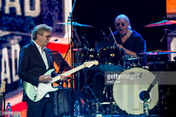 Eric Clapton and Iain Paice perform at the Music For Marsden 2020 at The O2 Arena on March 3 2020 in London England