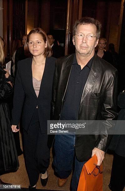 Eric Clapton And Wife Melia Mcennery The Royal Academy Of Arts Presents The Exhibition Of Giorgio Armani A Retrospective