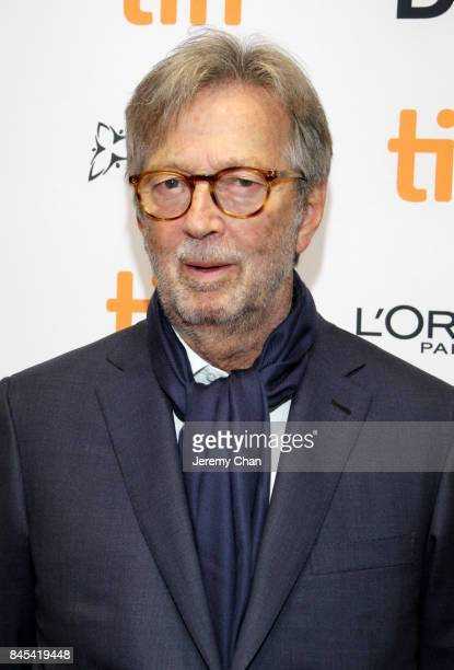 Eric Clapton attends 'Eric Clapton Life in 12 Bars' during the 2017 Toronto International Film Festival at TIFF Bell Lightbox on September 10 2017 in...