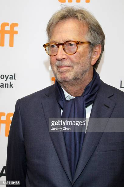 Eric Clapton attends Eric Clapton Life in 12 Bars during the 2017 Toronto International Film Festival at TIFF Bell Lightbox on September 10 2017 in...