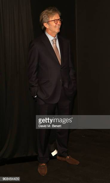 Eric Clapton attends the UK Premiere of 'Eric Clapton Life In 12 Bars' at BFI Southbank on January 10 2018 in London England