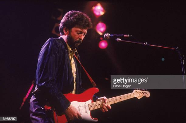 Eric Clapton live at the Royal Albert Hall circa 1980