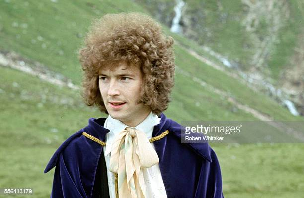 Eric Clapton of Cream pictured in Scotland during a shoot for the cover of the band's forthcoming album Disraeli Gears July 1968