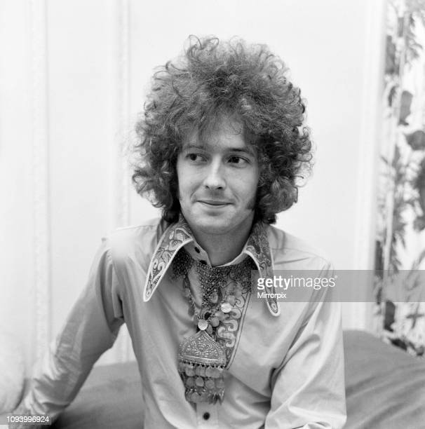 Eric Clapton of Cream shows off his curly hair that is created for him by a West End hairdresser. 20th June 1967.