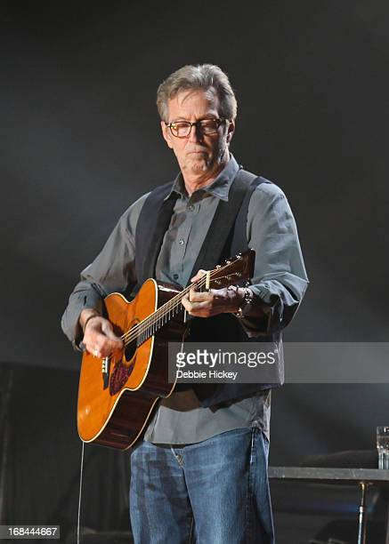 Eric Clapton performs at 02 on May 9 2013 in Dublin Ireland