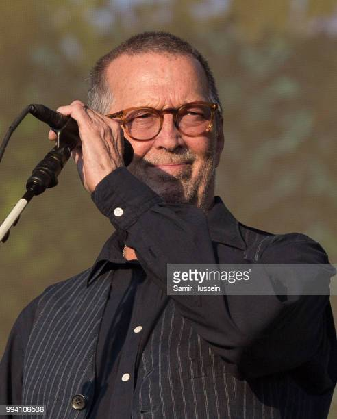 Eric Clapton performs live at Barclaycard present British Summer Time Hyde Park at Hyde Park on July 8 2018 in London England
