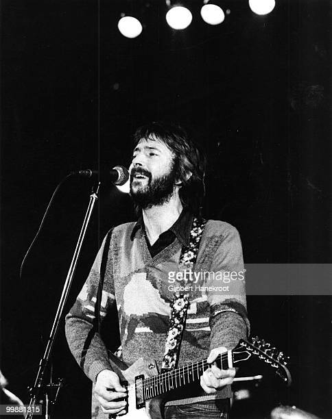 Eric Clapton performs live on stage at Ahoy in Rotterdam Netherlands on November 30 1974