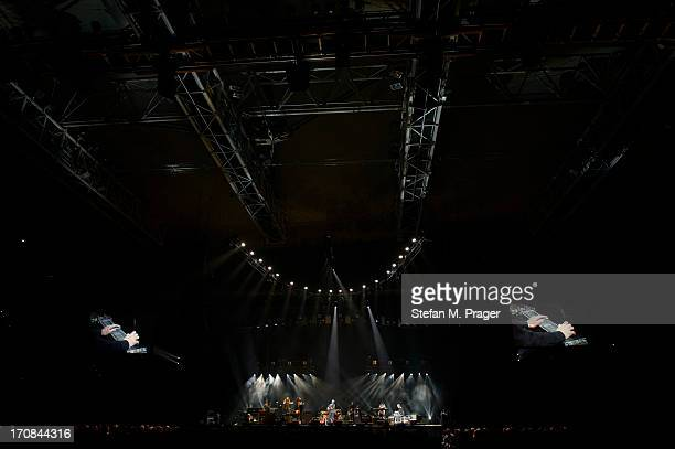 Eric Clapton performs on stage at Olympiahalle on June 9 2013 in Munich Germany ok