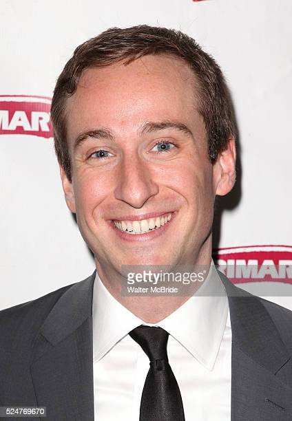 Eric Clem attending the Opening Night After Party for the Primary Stages production of 'All In The Timing' at The Volstead in New York City on...
