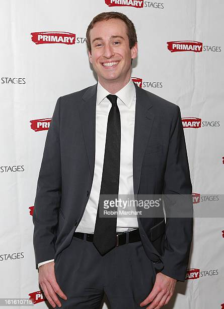 Eric Clem attends All In The Timing 20th Anniversary Opening Night Reception at The Volstead on February 12 2013 in New York City