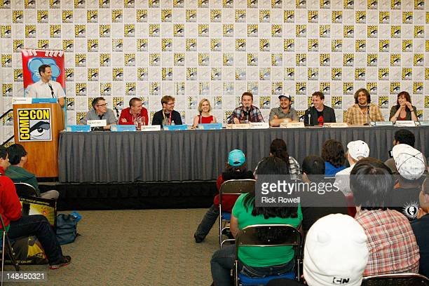 ANIMATION Eric Coleman Noah Z Jones Maxwell Atoms Justin Roiland Kari Wahlgren Alex Hirsch Jason Ritter Michael Rianda Craig McCracken and Lauren...