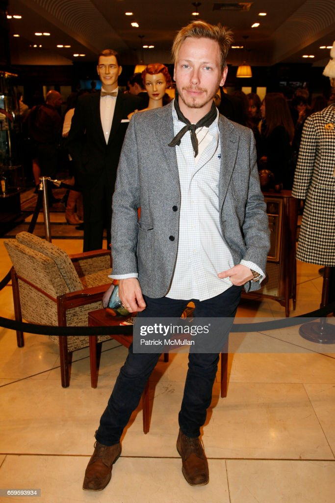 f47ccfccb907 Eric Damon attends BROOKS BROTHERS and JANIE BRYANT Celebrate the ...