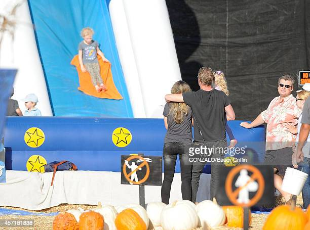 Eric Dane and Rebecca Gayheart are seen on October 13 2014 in Los Angeles California