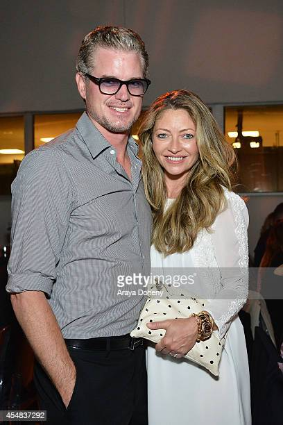 Eric Dane and Rebecca Gayheart attend the Project Angel Food's 25th Anniversary Angel Awards 2014 honoring Aileen Getty with the Inaugural Elizabeth...