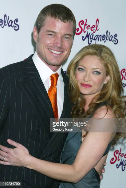 Eric Dane and Rebecca Gayheart during 'Steel Magnolias' Opening Night on Broadway After Party at Tavern on the Green in New York City New York United...