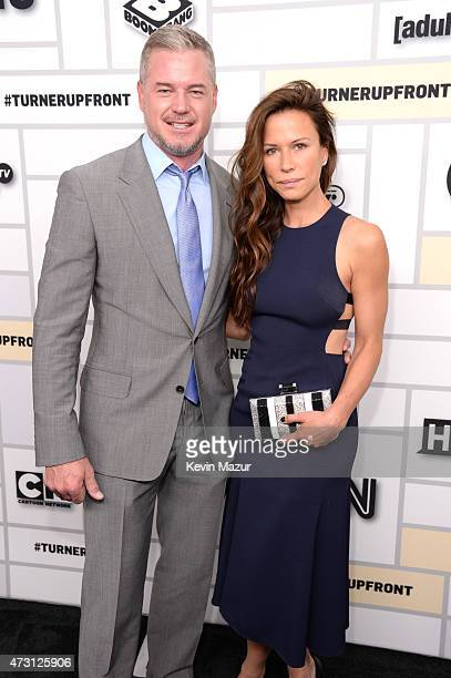 Eric Dane and Rhona Mitra attend the Turner Upfront 2015 at Madison Square Garden on May 13 2015 in New York City 25201_002_KM_0547JPG
