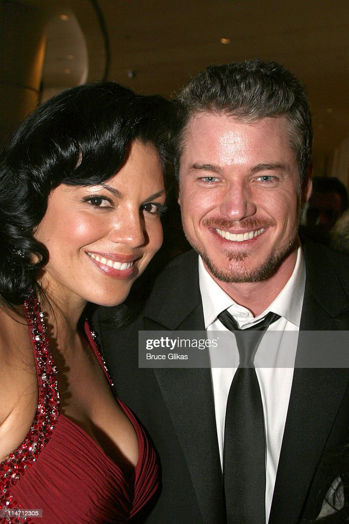 Eric Dane and Sara Ramirez during Paramount Pictures Hosts 2007 Golden Globe Award After-Party at Beverly Hilton Hotel in Beverly Hills, California, United States.
