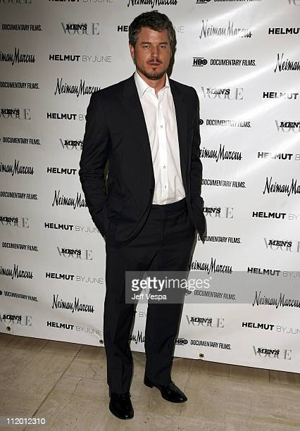 Eric Dane during Men's Vogue Hosts a Private Screening of 'Helmut' by June with Brett Ratner at Neiman Marcus in Beverly Hills California United...