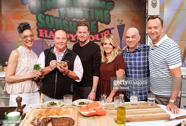 THE CHEW Eric Dane is a guest on 'THE CHEW' 6/20/16 airing on the ABC Television Network KELLY