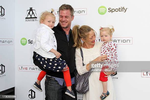 Eric Dane Rebecca GayheartDane and family attend the Guy Oseary's July 4th event in Malibu presented by Spotify and Live Nation with DeLeon and...