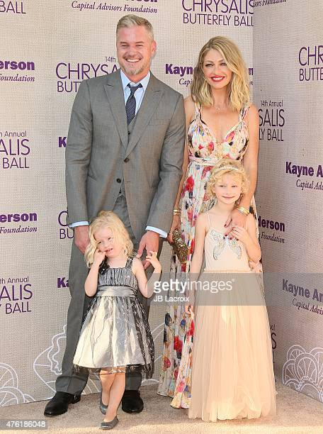 Eric Dane Rebecca GayheartDane Georgia Dane and Billie Beatrice Dane attend the 14th annual Chrysalis Butterfly Ball sponsored by Audi Kayne Anderson...