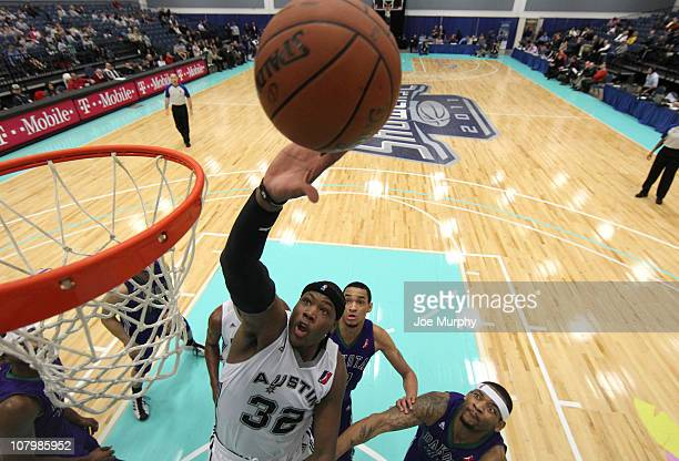 Eric Dawson of the Austin Toros shoots the ball against the Dakota Wizards during the 2011 NBA DLeague Showcase on January 11 2011 at the South Padre...