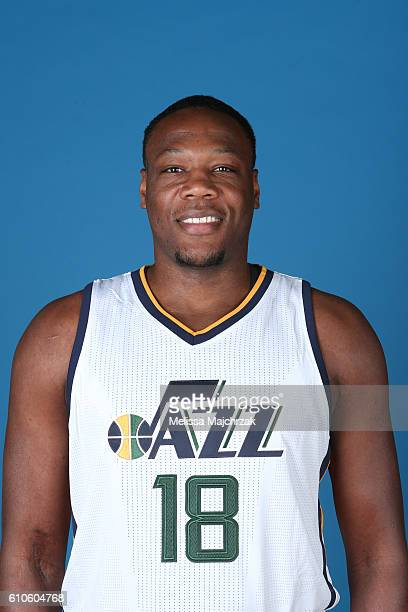 Eric Dawson of the Utah Jazz poses for a headshot during 20162017 Utah Jazz Media Day at Zions Bank Basketball Center on September 26 2016 in Salt...