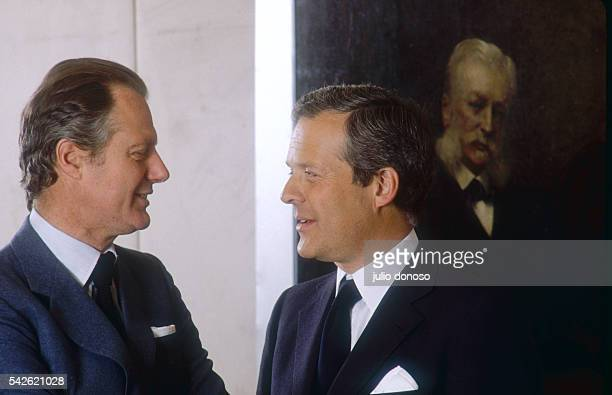 Eric de Rothschild and his cousin David come from the prominent Rothschild banking family David is chairman of the French branch of his family's bank...