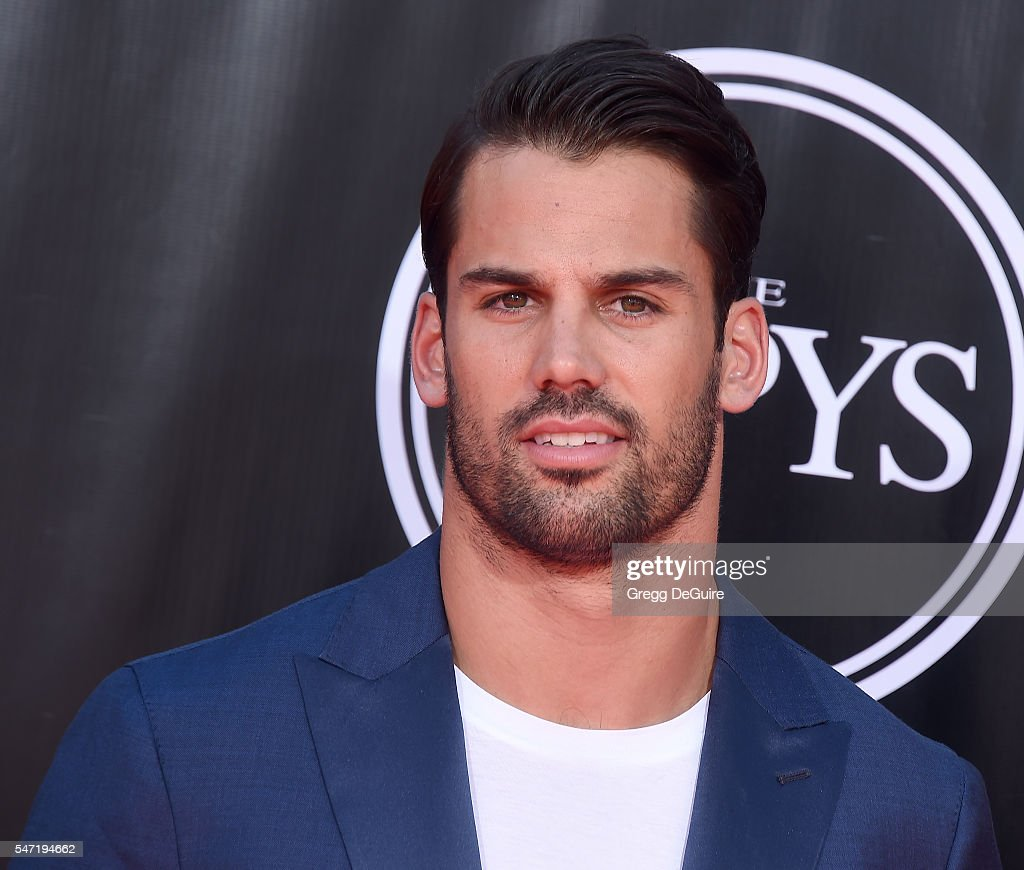 Eric Decker arrives at The 2016 ESPYS at Microsoft Theater on July 13, 2016 in Los Angeles, California.