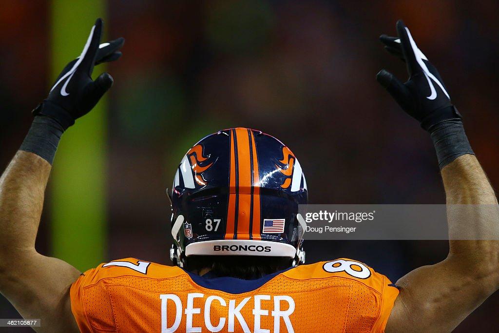 Divisional Playoffs - San Diego Chargers v Denver Broncos : News Photo