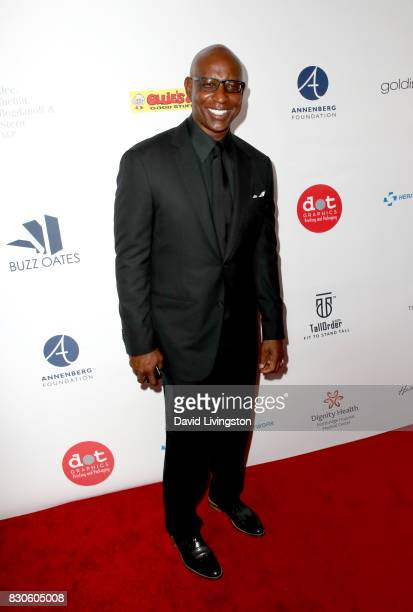 Eric Dickerson at the 17th Annual Harold Carole Pump Foundation Gala at The Beverly Hilton Hotel on August 11 2017 in Beverly Hills California