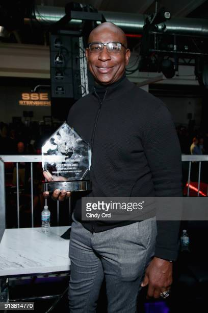 Eric Dickerson attends Leigh Steinberg Super Bowl Party 2018 on February 3 2018 in Minneapolis Minnesota
