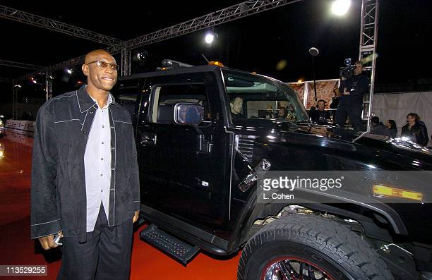 Eric Dickerson during General Motors Shaquille O'Neal Present Rollin' 24 Deep GMAll Car Showdown Red Carpet at Raleigh Studios in Hollywood...