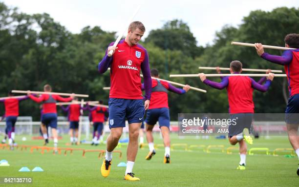 Eric Dier of England during the England Training Session on September 3 2017 in Enfield England