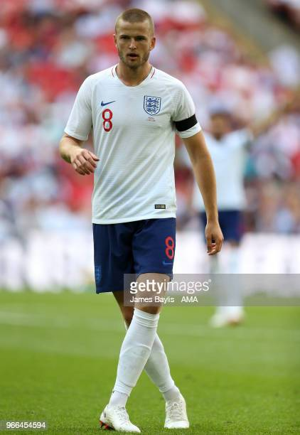 Eric Dier of England during the International Friendly between England and Nigeria at Wembley Stadium on June 2 2018 in London England