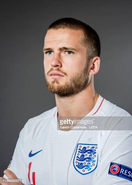 Eric Dier of England poses for a portrait at St Georges Park on June 04, 2019 in Burton-upon-Trent, England.