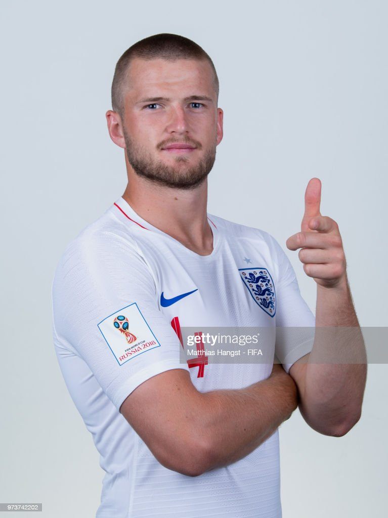 Eric Dier of England poses for a portrait during the official FIFA World Cup 2018 portrait session at on June 13, 2018 in Saint Petersburg, Russia.