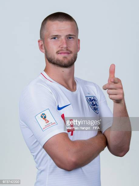 Eric Dier of England poses for a portrait during the official FIFA World Cup 2018 portrait session at on June 13 2018 in Saint Petersburg Russia
