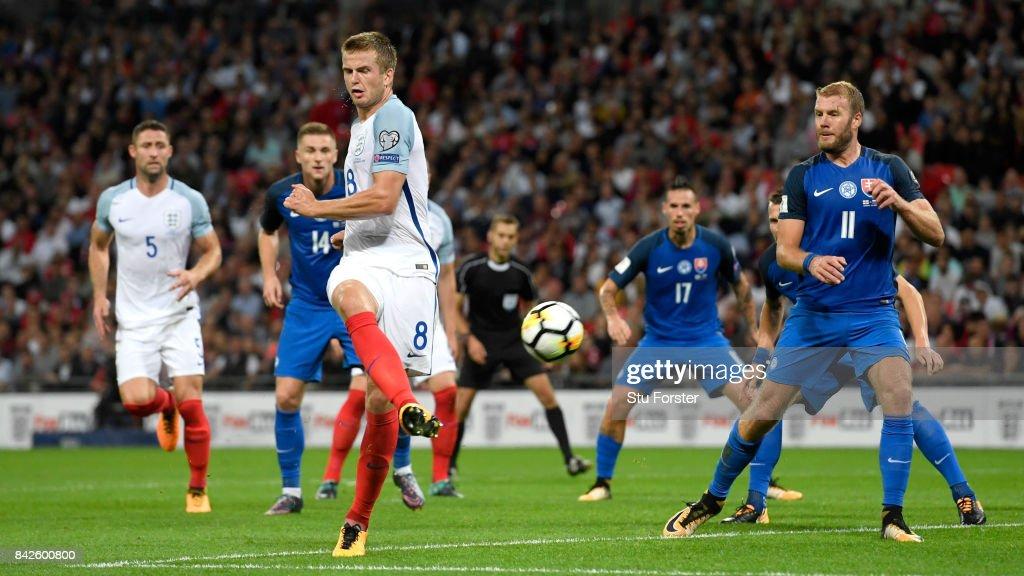 England v Slovakia - FIFA 2018 World Cup Qualifier : News Photo