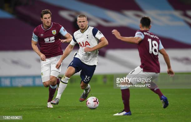 Eric Dier of Tottenham Hotspur during the Premier League match between Burnley and Tottenham Hotspur at Turf Moor on October 26 2020 in Burnley...