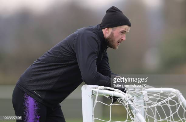 Eric Dier of Tottenham Hotspur during the Tottenham Hotspur training session at Tottenham Hotspur Training Centre on January 10, 2019 in Enfield,...
