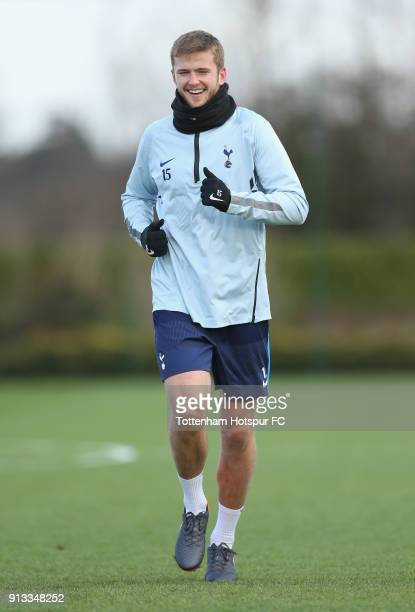 Eric Dier of Tottenham Hotspur during the Tottenham Hotspur training session at Tottenham Hotspur Training Centre on February 2 2018 in Enfield...