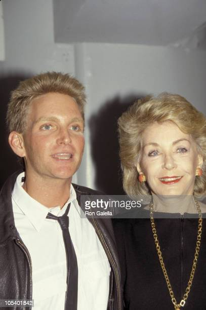 Eric Douglas and Anne Douglas during Face International 10 Most Exciting Faces of 1987 at Hollywood Palladium in Hollywood California United States