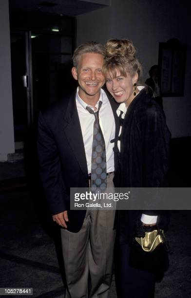 Eric Douglas and Christine Redland during Basic Instinct Screening at Sony Studios in Culver City California United States
